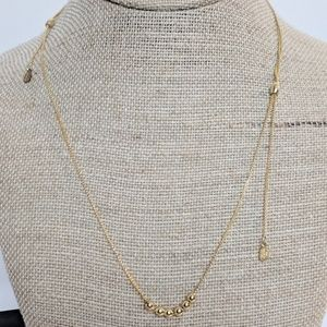 Alex and Ani Gold Chain Station Necklace NWT